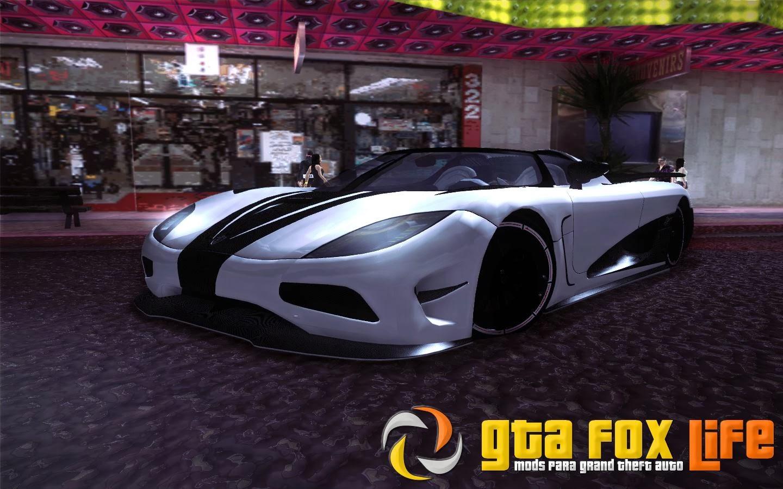 Koenigsegg Agera R 2011 para GTA SA
