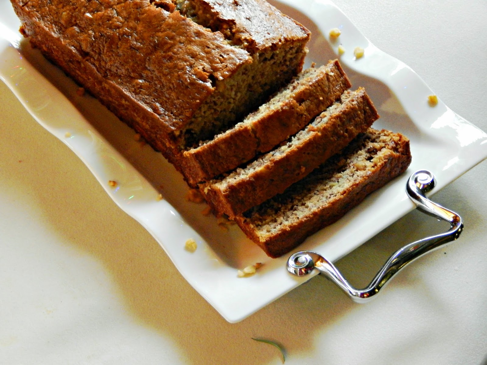 Easy Banana Bread recipe made with MIRACLE WHIP #tastethemiracle #ad #cbias