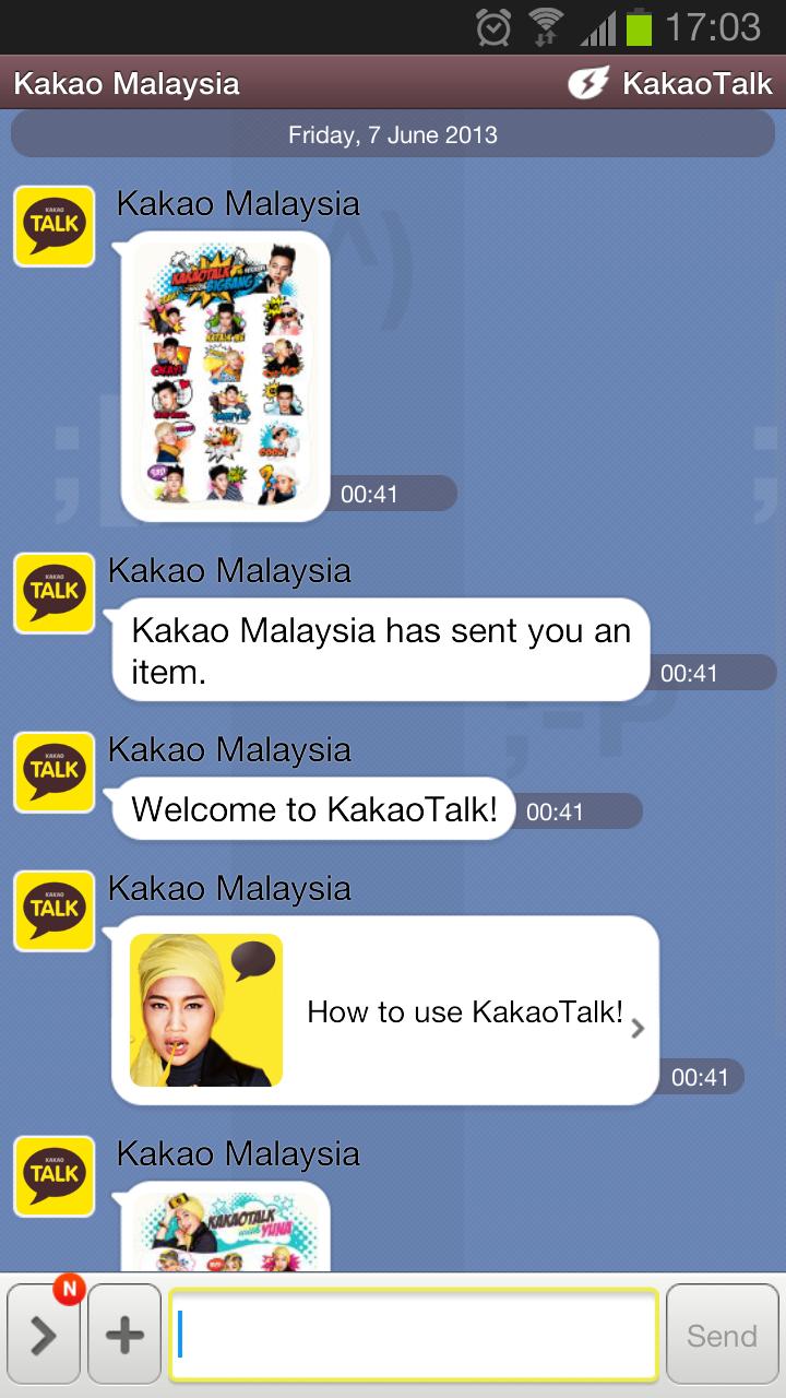 Friends Kakao Talk