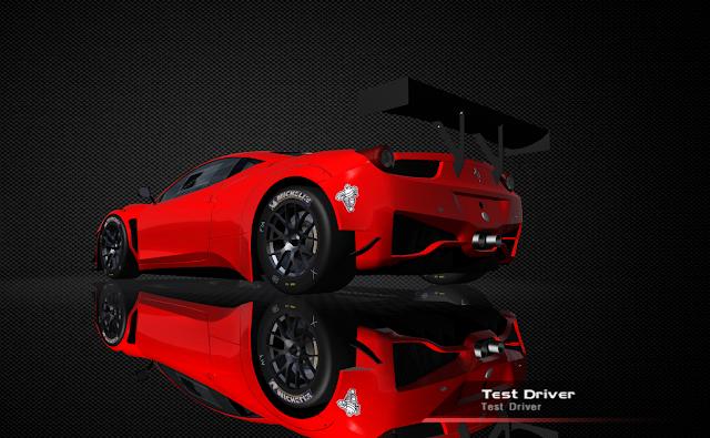 Ferrari 458 Italia para rFactor GT3 2011