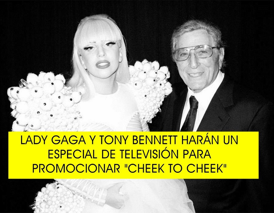 "Lady Gaga se une a Tony Bennett para promocionar ""Cheek to Cheek"""
