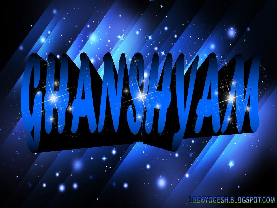 logo and name wallpaper ghsnshyam logo