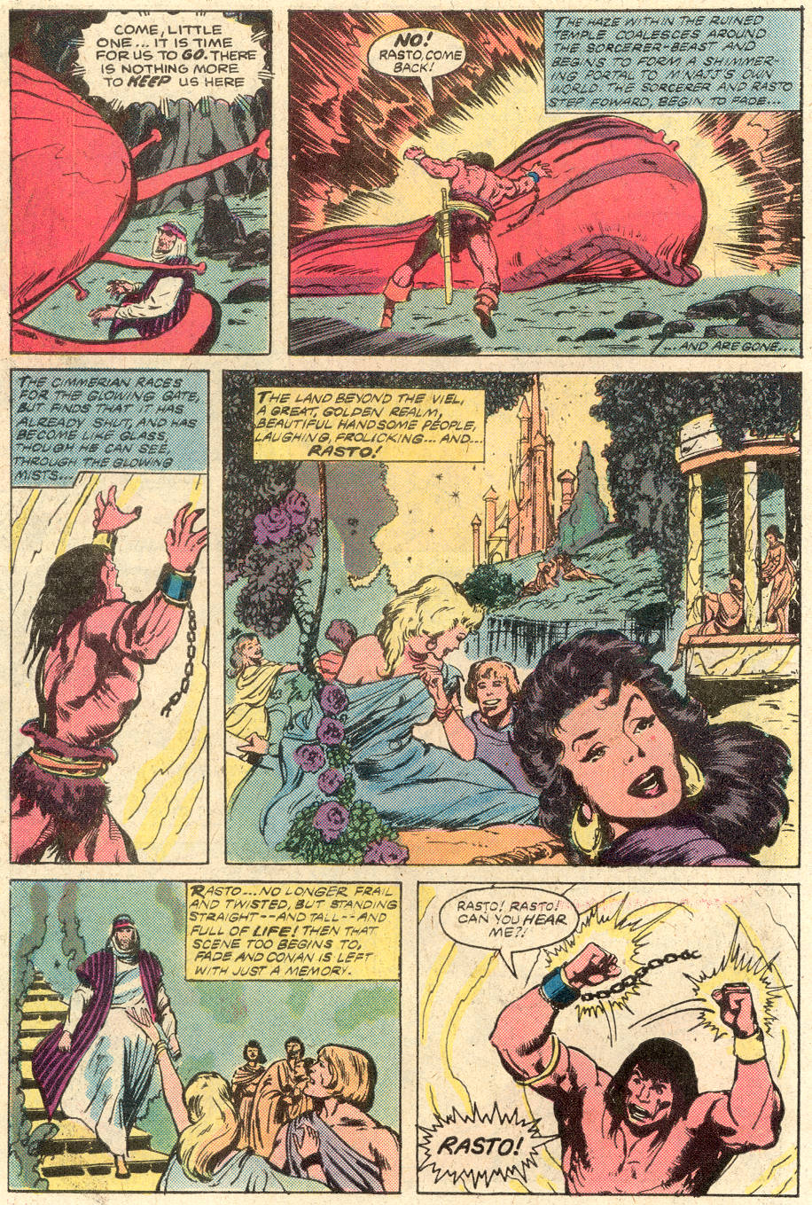 Conan the Barbarian (1970) Issue #116 #128 - English 22