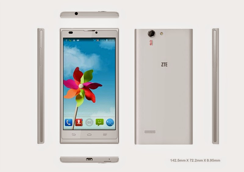 ZTE Blade L2 Android Quad Core Murah Rp Sejutaan