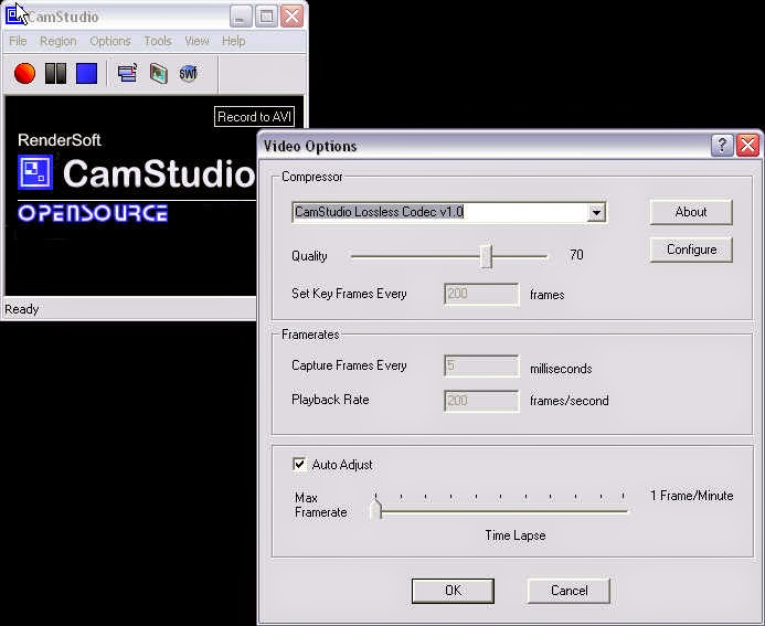 Download CamStudio Software Perekam Aktivitas Desktop