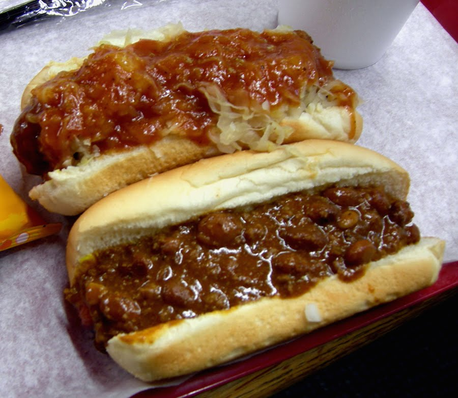 better than many the chili for a chili dog is flavorful and thick a ...