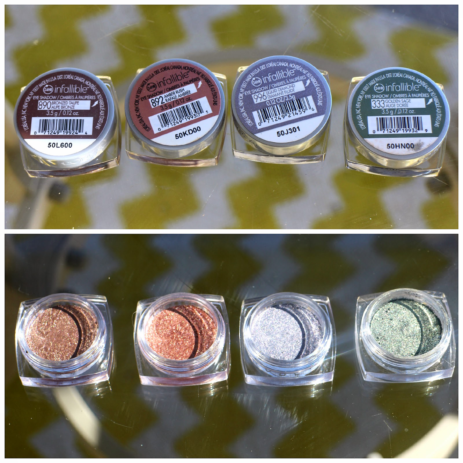 L'Oreal Paris Infallible Eyeshadows