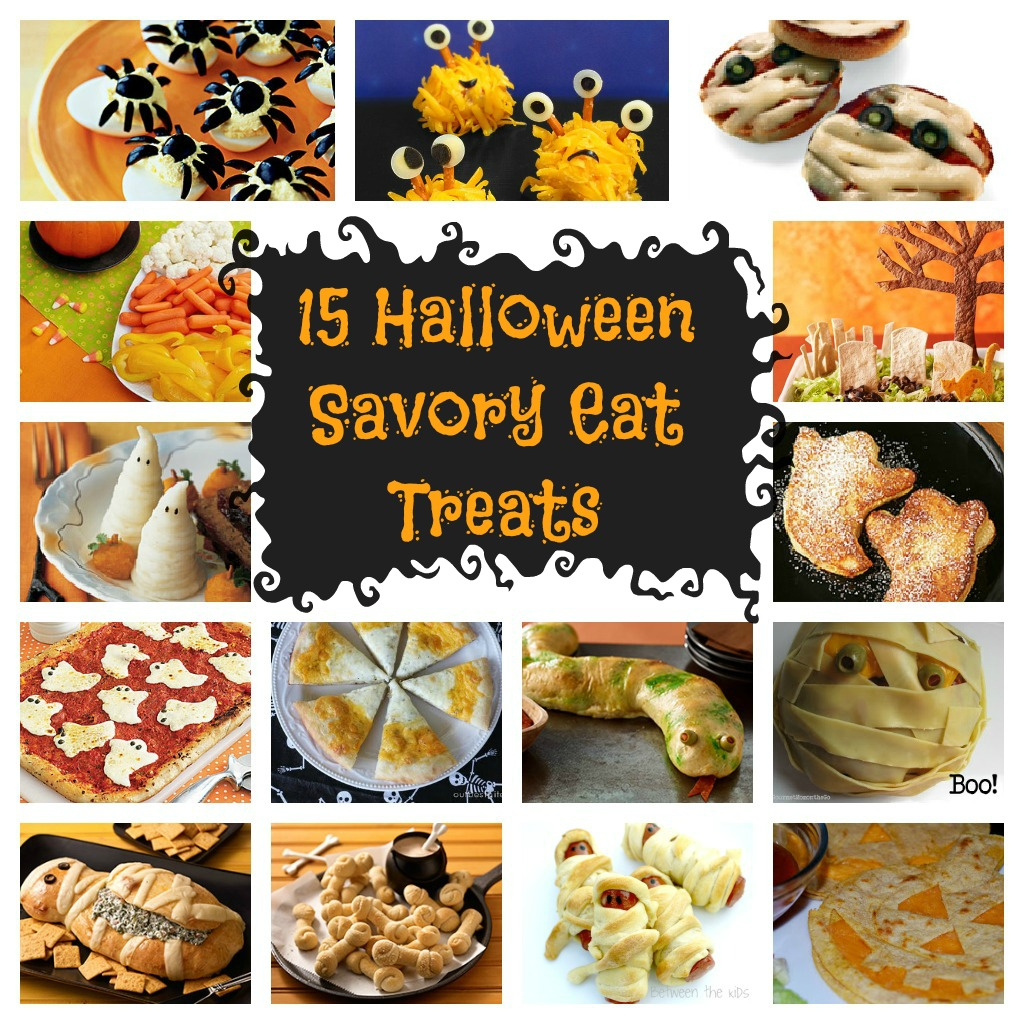 good ol google and pinterest and came up with a few things fifteen to be exact that might be worth trying so here are 15 halloween savory eat treats