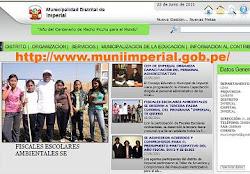 Portal Oficial de la Municipalidad Distrital de Imperial