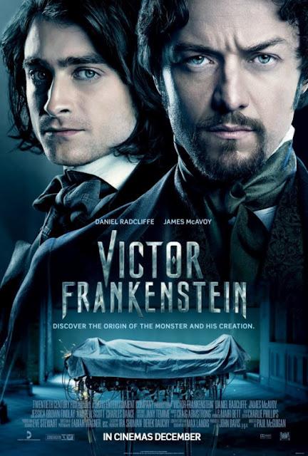 Victor Frankenstein novo poster