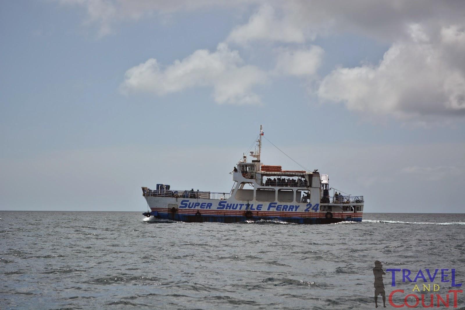 RORO Boat to Benoni Port, Camiguin
