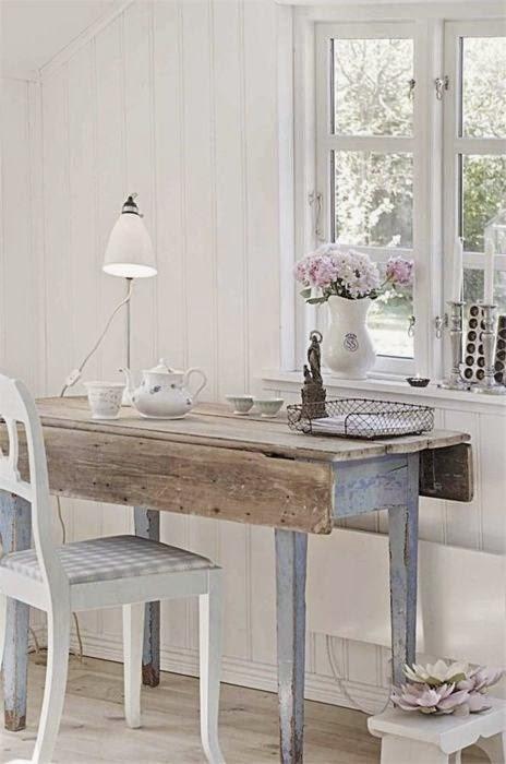 Arredamento stile shabby chic arredare interni ed esterni della casa scrivanie ufficio shabby chic - Arredare casa stile shabby chic ...