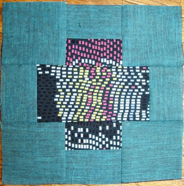 Tula Pink's City Sampler Sew Along Block 10