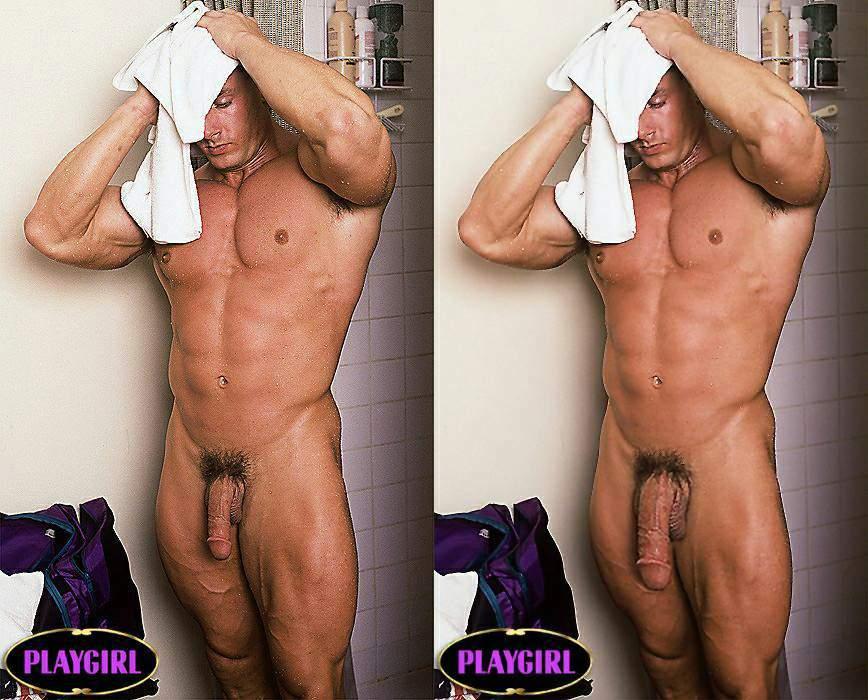Playgirl Model Ken Swearingen And His Big Muscles