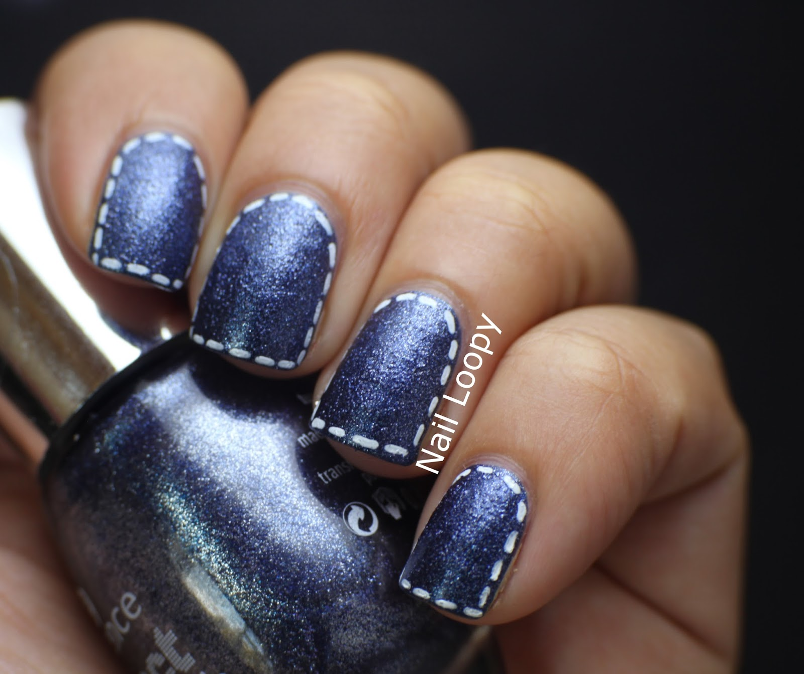 Nail loopy essence denim effect jeans nail art essence denim effect jeans nail art prinsesfo Choice Image
