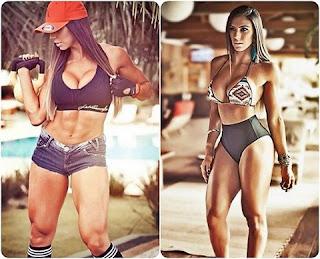 Carol Saraiva tem mais de 650 mil de seguidores no Instagram. Ela é formada em educação física e faz questão de mostrar toda sua força. A gata arranca suspiros de qualquer um!