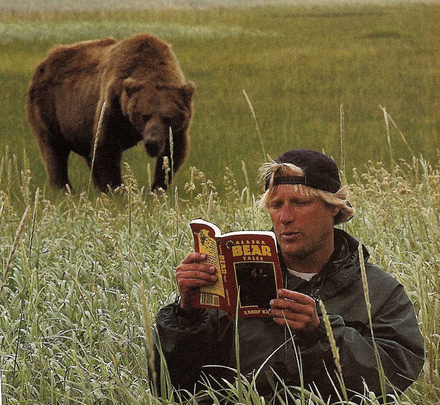 grizzly man This analysis is also applicable to werner herzog's provocative 2005  documentary grizzly man: the bears are similar to beckett's godot, but in.