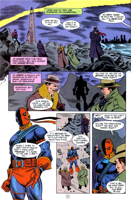 Deathstroke (1991) Issue #6 #11 - English 7