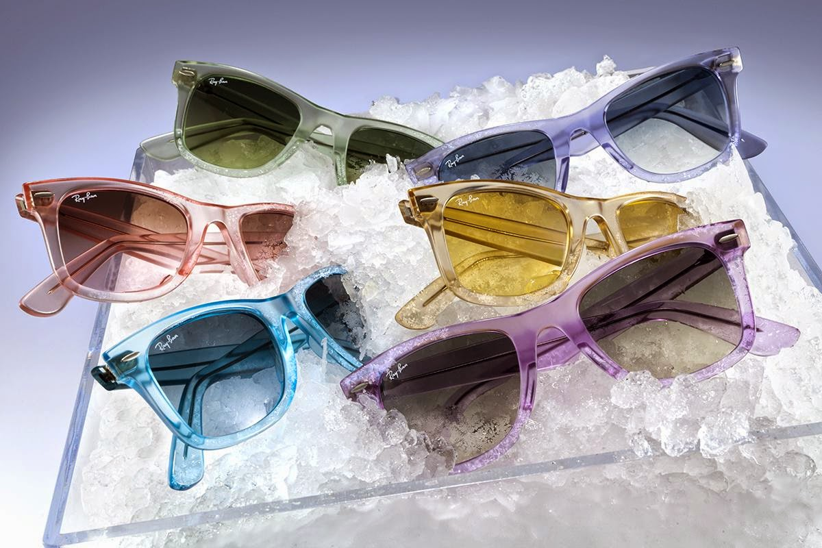 ray ban releases ice pop wayfarer sunglasses collection the