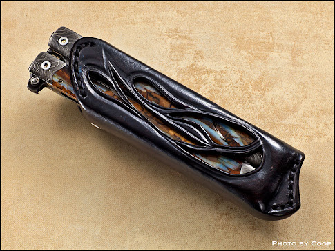 """Spire"" Balisong in Sheath"