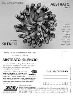 Abstrato: silêncio no Salão da Fotografia Consigo - PhotoConversa