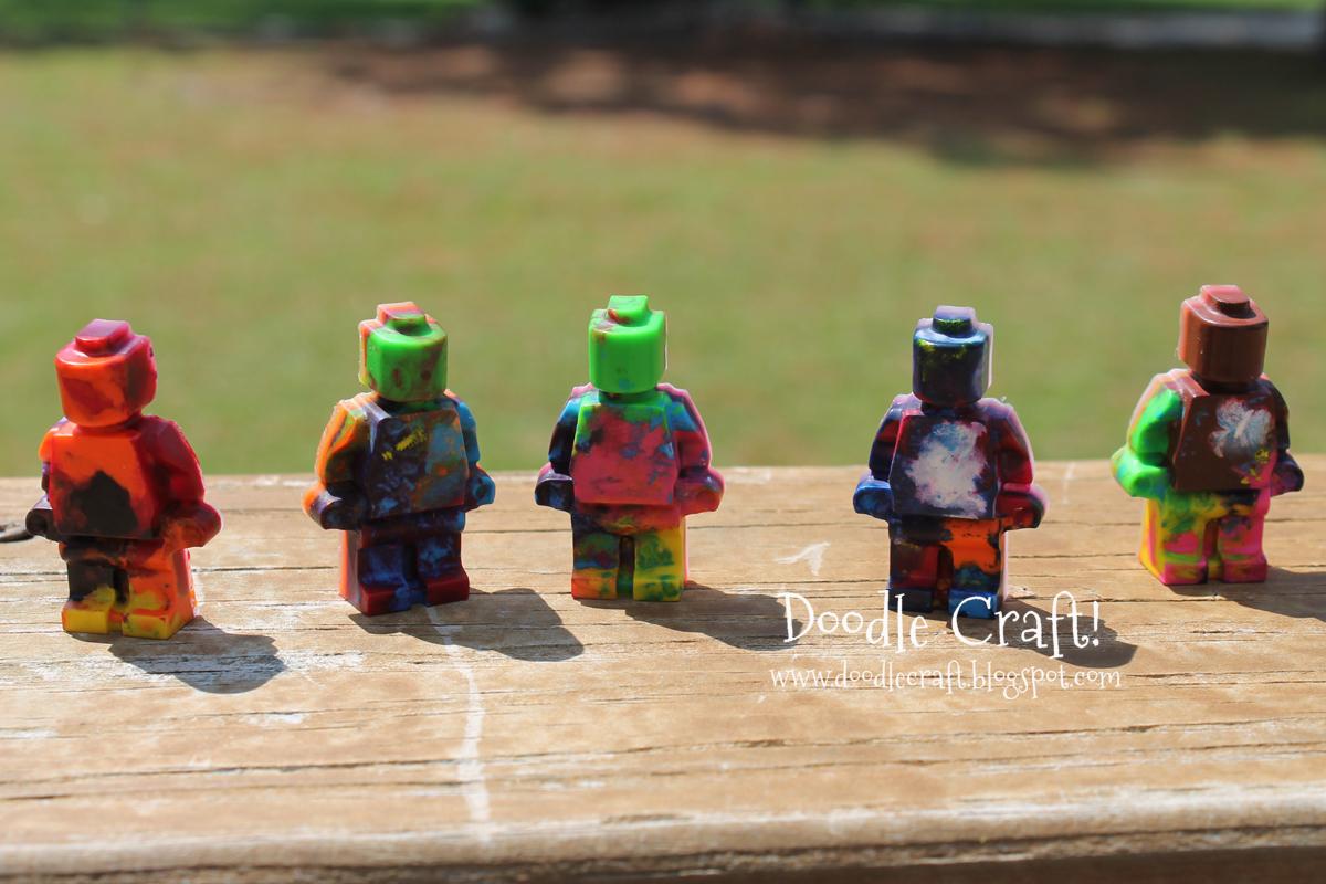 Silicone Mold for LEGO Crayon