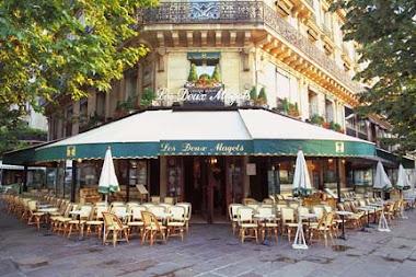 CAFE DUEX MAGGOTS,  PARIS