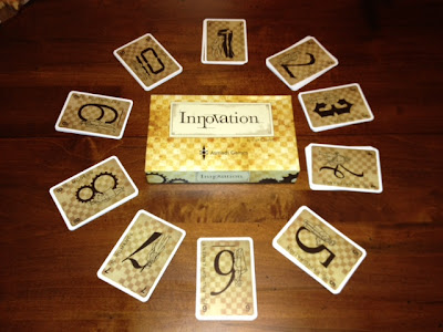 Innovation cards beautifully laid out