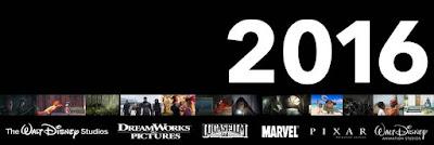 Walt Disney Studios Motion Pictures 2016 Release Schedule