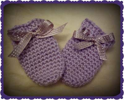Free Crochet Pattern For Baby Scratch Mittens : CROCHET SCRATCH MITTS PATTERN Crochet Patterns Only