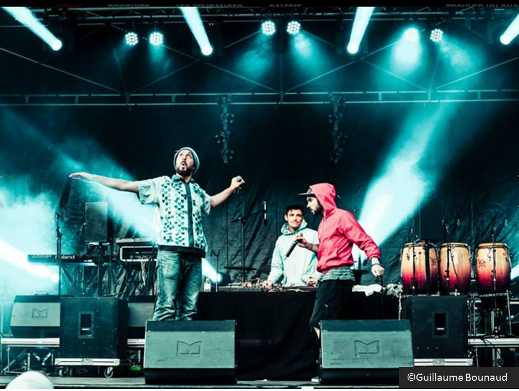 Duo groupe hip-hop Chill Bump  rap de Tours, album Ego Trip Chill Bump, photo Guillaume Bounaud