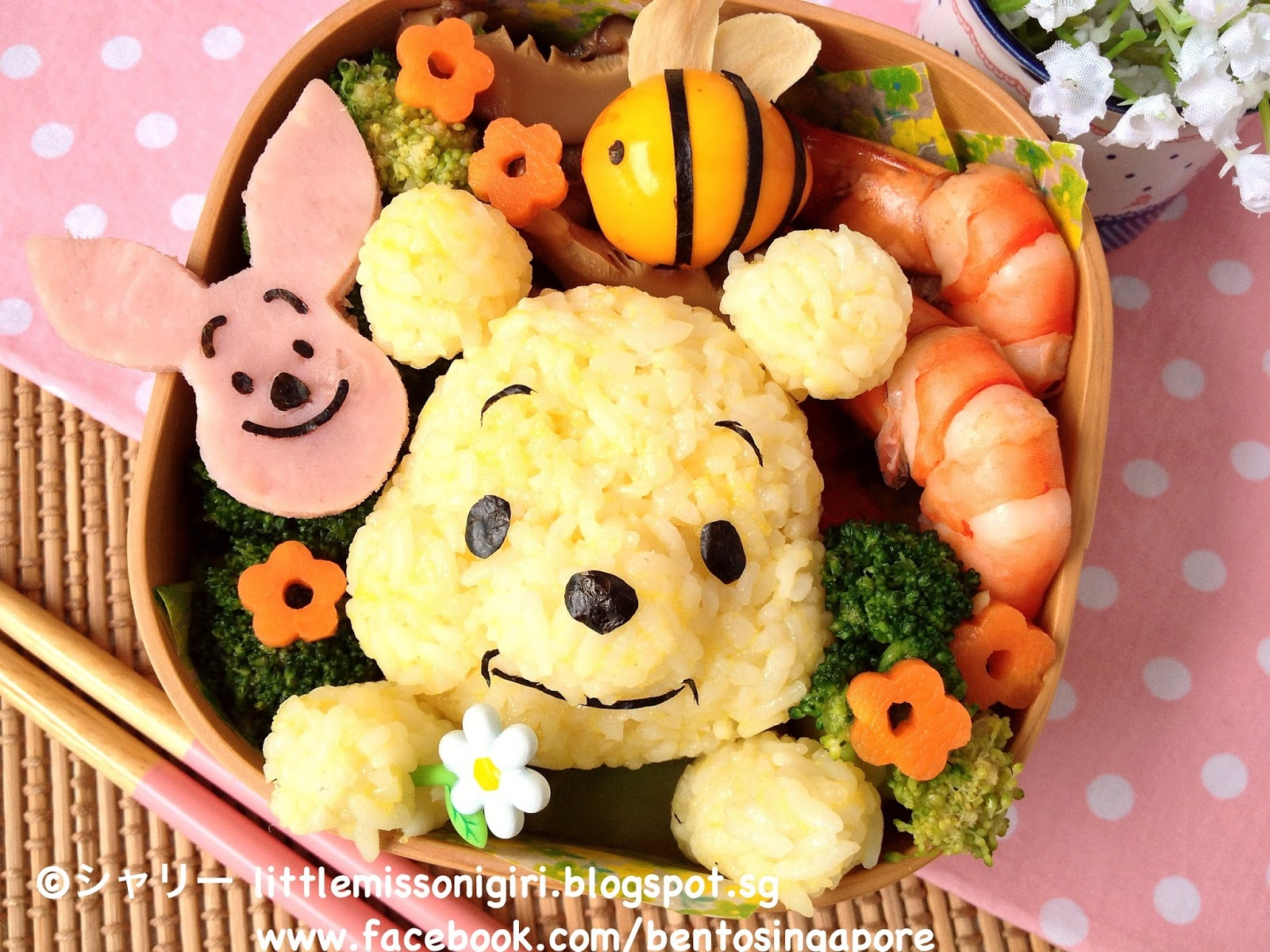 Winnie The Pooh Bento Little Miss Bento