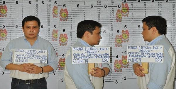Jinggoy Estrada suspended