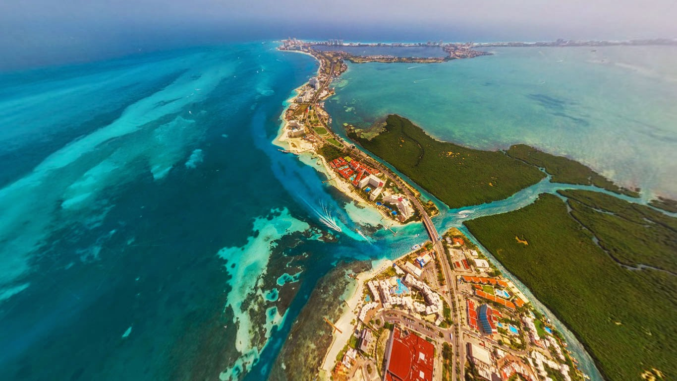 Cancún, Mexiko Panorama (© AirPano Ltd) 289