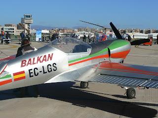 Avió acrobàtic de competició Zlin 50 LS.