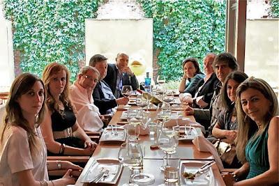 periodistas gastronómicos en Pan de Lujo con Rafael Rincón y Esteban Capdevila