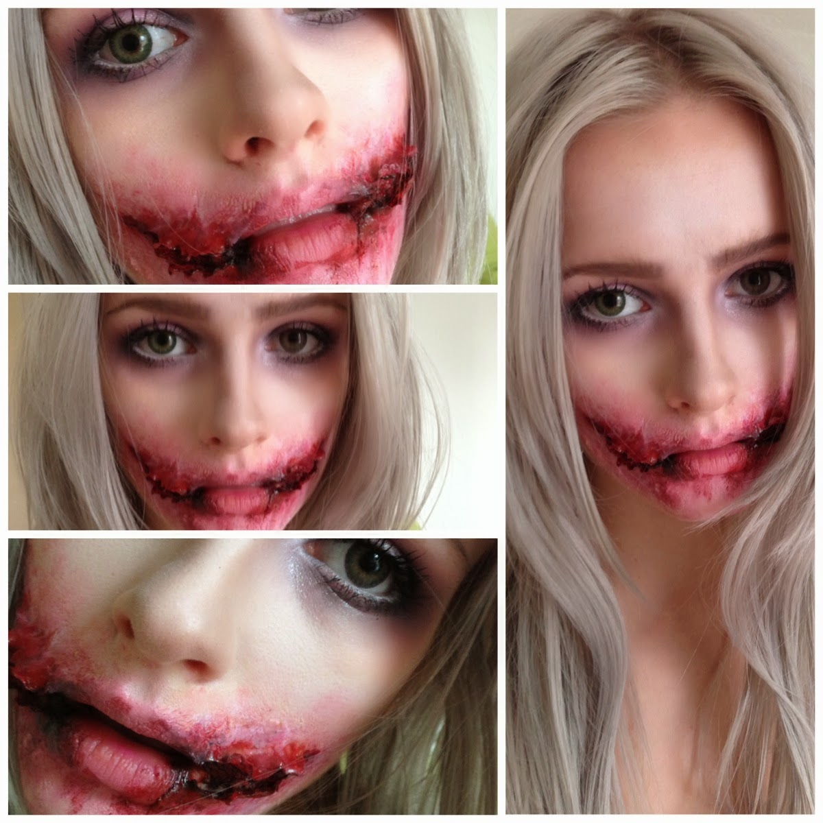 The little Blonde beauty blog ♀: Halloween makeup- Jokers Chelsea ...