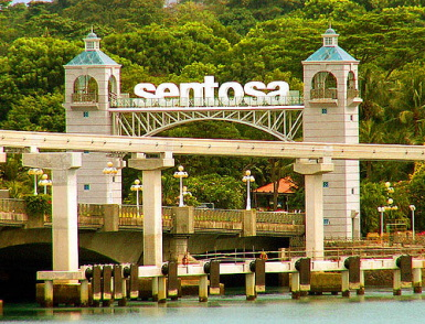 Holiday Fans travel the World RTW -family activities Budget Travel Sentosa Singapore