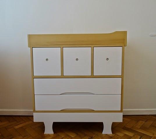 Modulor muebles c moda cambiador para beb - Comoda cambiador bebe ...