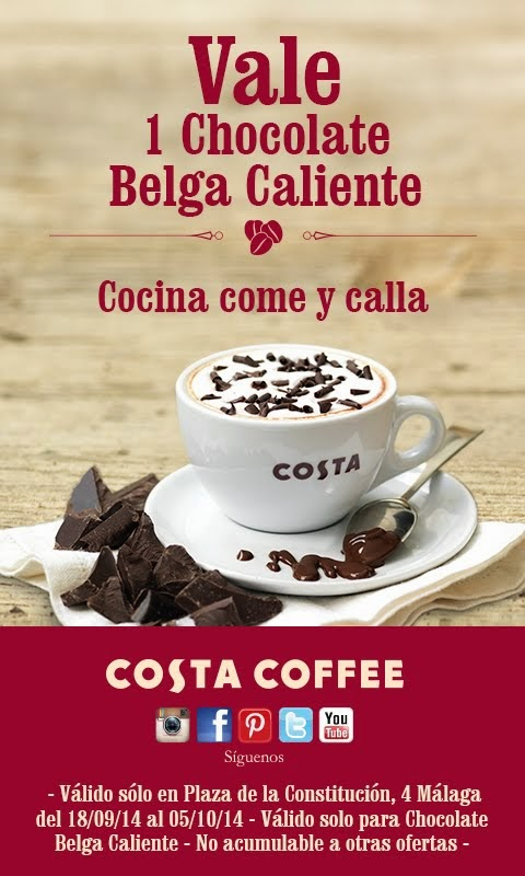 Costa Coffee te invita