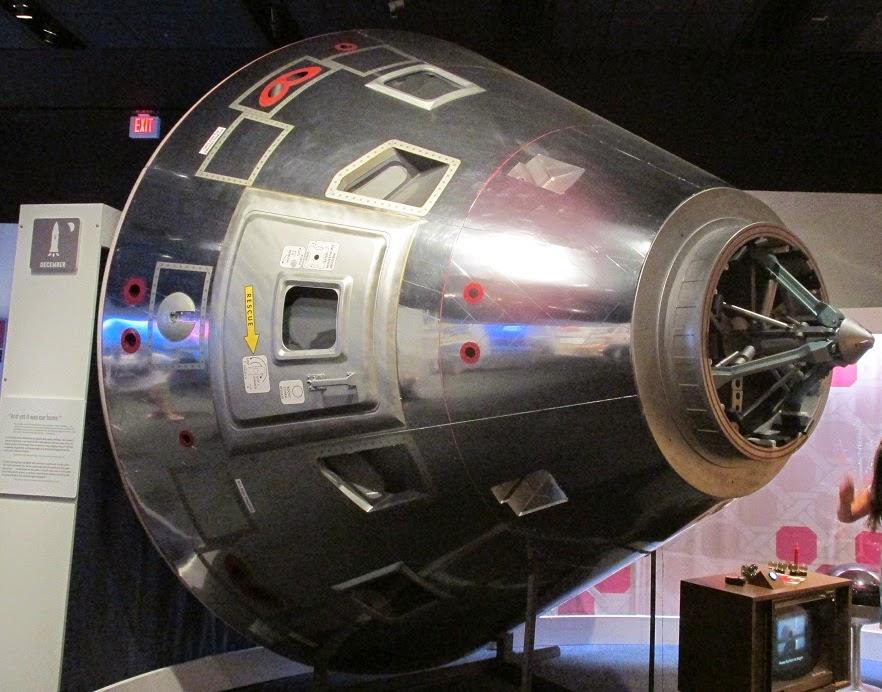 space capsule exhibit