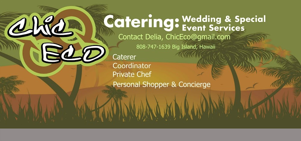 Chic Eco Catering & Special Event Coordination