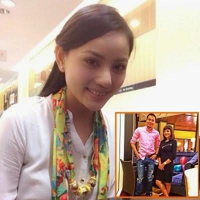 6 Gambar Wajah cute Nazeera Sardi kekasih baru Jep Sepahtu