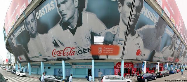 Exterior del Estadio de Balaídos