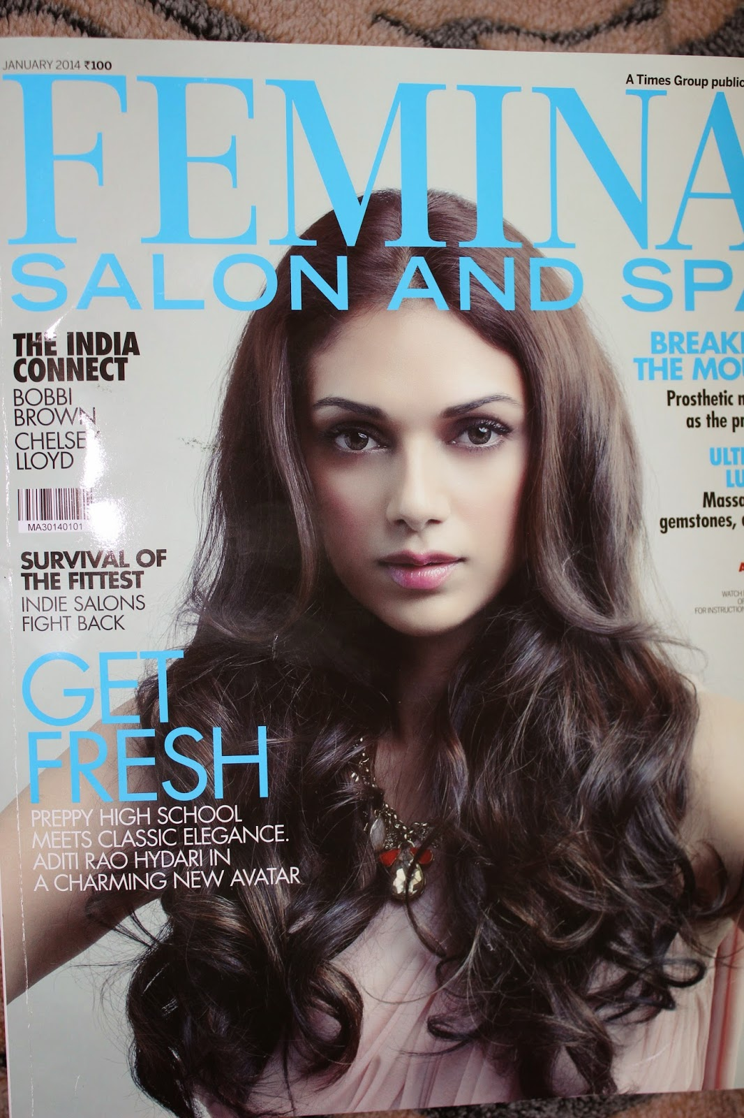 Femina Salon and Spa Januay 2014