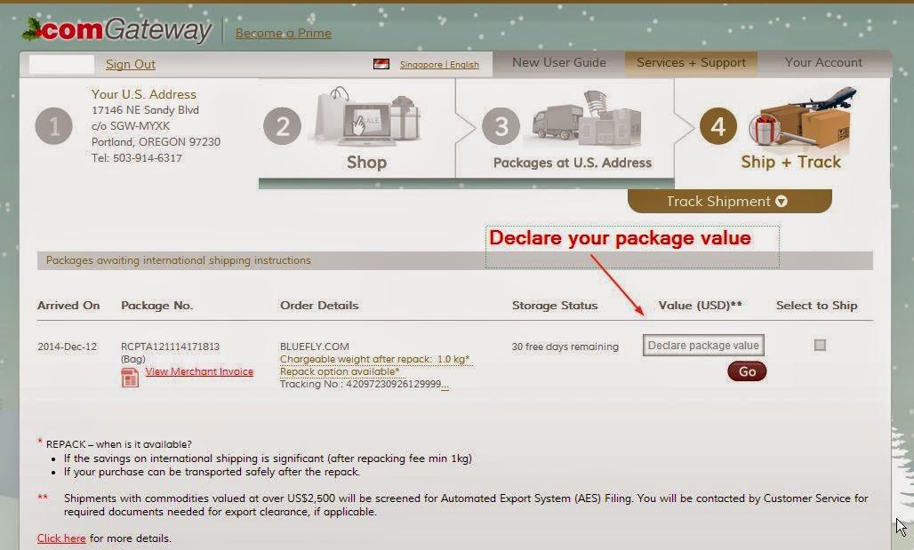 Declare item values