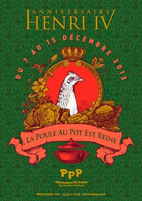 La poule au pot reine de l'hiver 2013 autour de Pau et dans tout le béarn