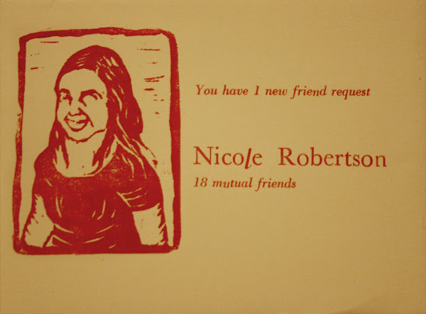 18 mutual friends mail art