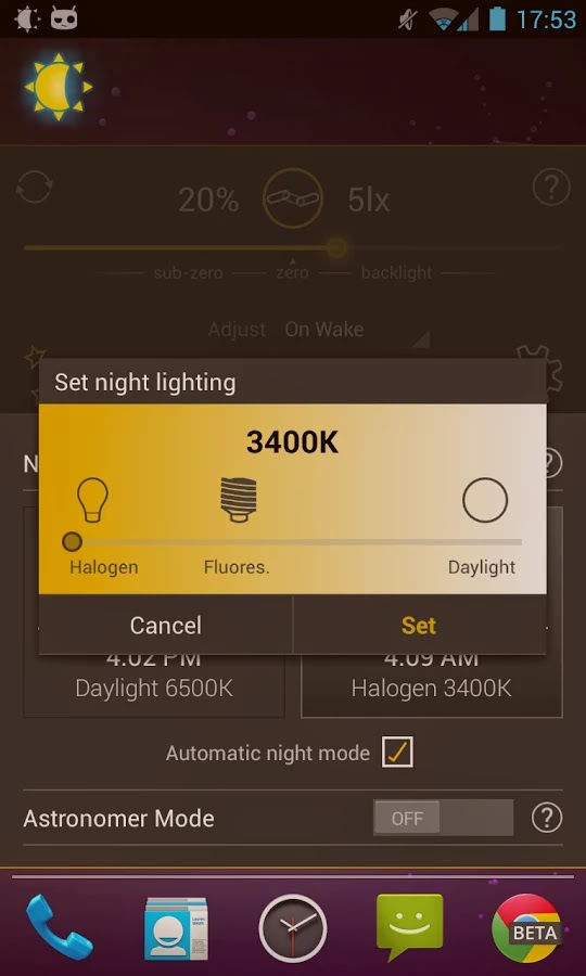 Lux Auto Brightness v1.99.993