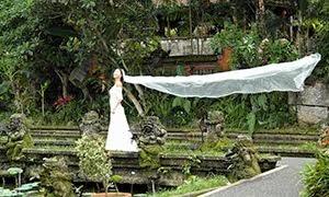 Bride in Ubud